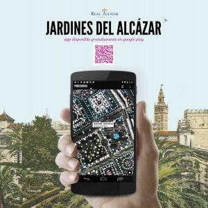 """App """"Jardines del Alcázar"""""""