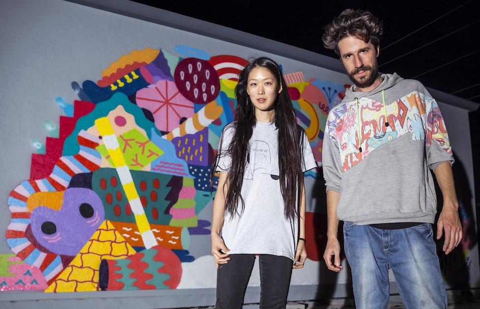 Zosen y Mina Hamada, artistas internacionales representados por Delimbo
