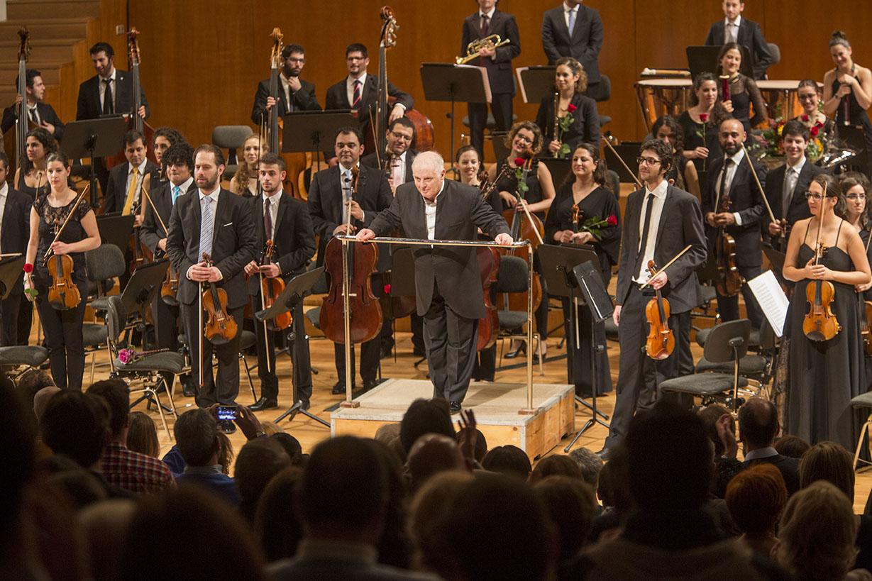 Resultado de imagen para Daniel Barenboim,La Orquesta del Diván