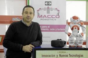 Víctor Martín, fundador y director de Macco Robotics.