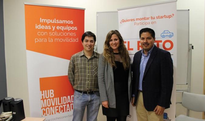 Foto ganadores Reto Movilidad Conectada