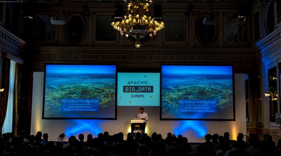 Convención de Apache Big Data en Budapest en 2015
