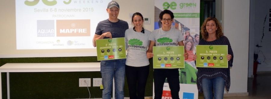 Ganadores de Greenweekend Sevilla 2015