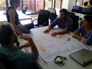 Equipo de trabajo participante en Greenweekend Sevilla 2015