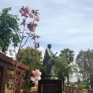 Estatua de Hakura Tsunenaga en Coria del Río