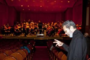 Brouwer con la Joven Orquesta Filarmonía de Córdoba.