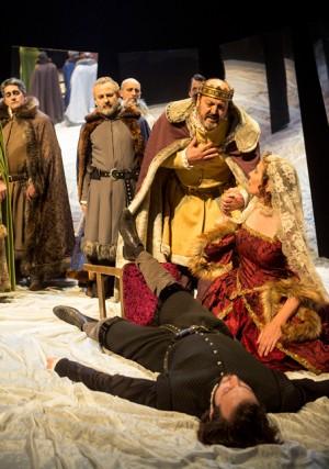 'Hamlet', el galardonado espectáculo de la compañía Teatro Clásico de Sevilla