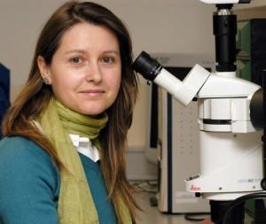 La investigadora del CSIC, María Domínguez. Foto: CSIC