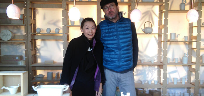 Yukiko Kitahara y Guillermo Gil, artesanos del Taller Kúu