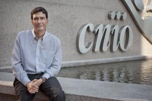 El investigador Manuel Serrano en la sede del Centro Nacional de Investigaciones Científicas (CNIO). Fotografía: EFE