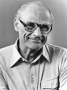 El dramaturgo norteamericano Arthur Miller