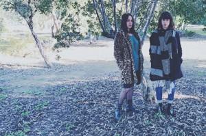Las hermanas Laura y Verónica Morales