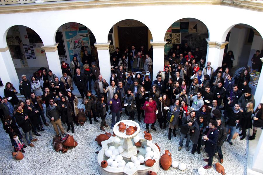 La edición 2016 del New Year's Brunch en Sevilla se celebró en la Fundación Valentín de Madariaga.