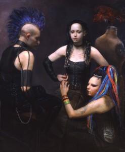 Pintura de Steven Assael