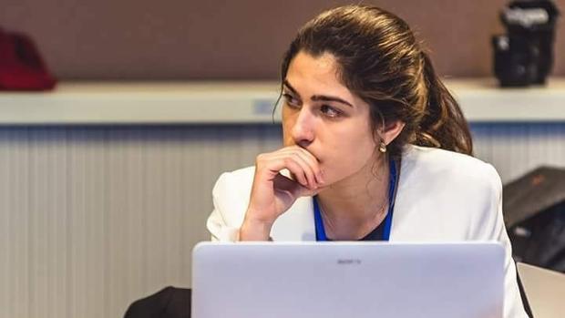 Marina Navarro, una joven de 22 años al frente de la organización internacional European Student Think Tank