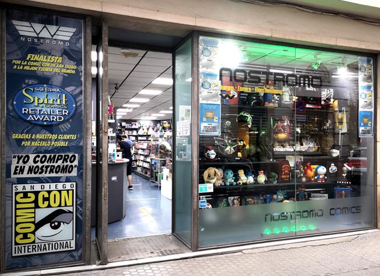 Nostromo, un foco cultural de referencia internacional en la industria del cómic