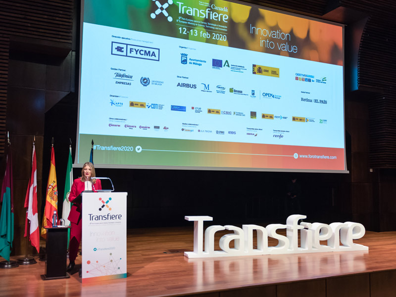 Presentación durante el Foro Transfiere 2020