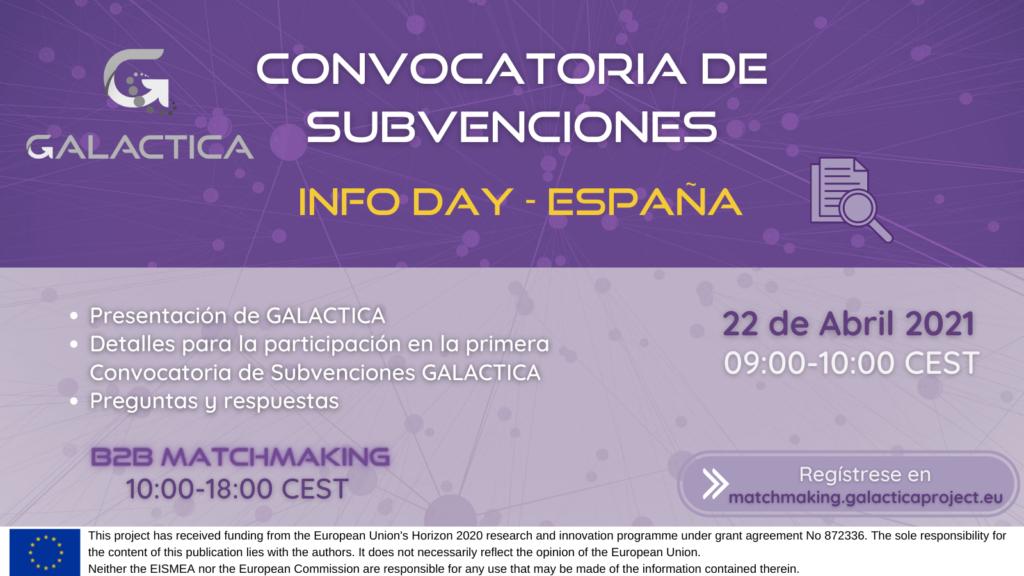 Sesión informativa para solicitar apoyo del proyecto Galáctica