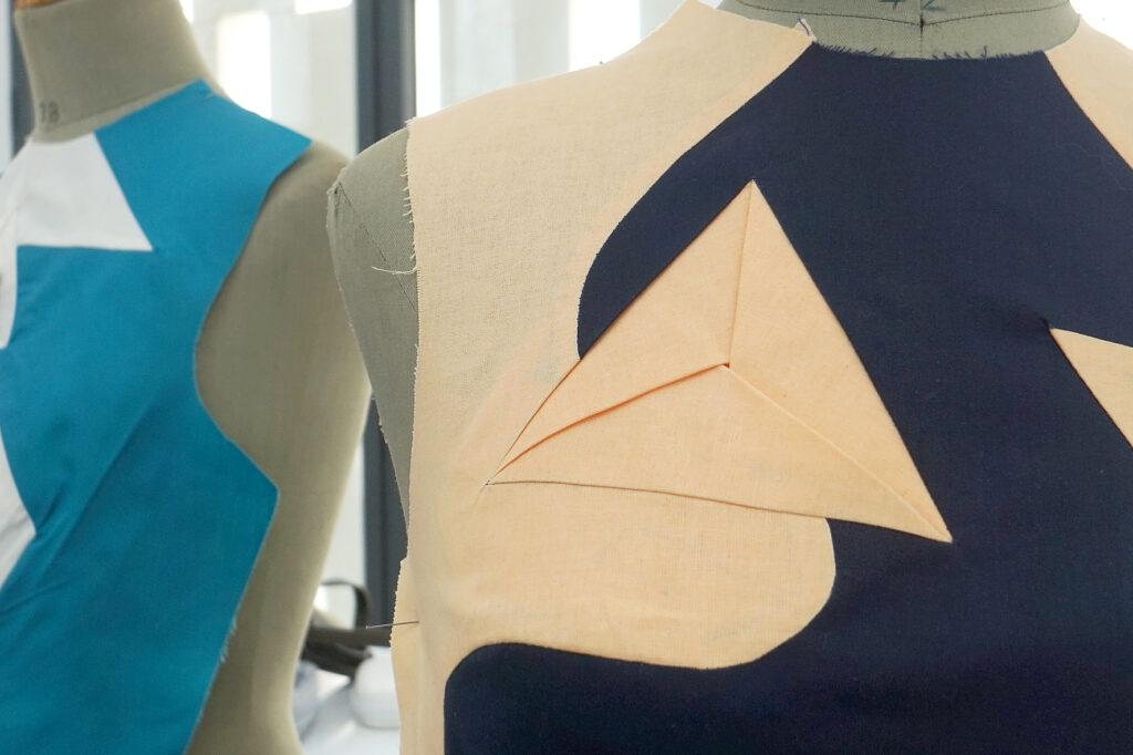 Muestra de un patrón diseñado por el japonés Shingo Sato