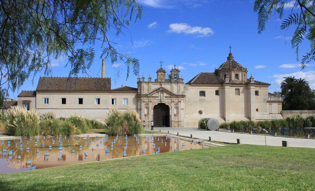 Sede de la UNIA en el Monasterio de la Cartuja de Sevilla