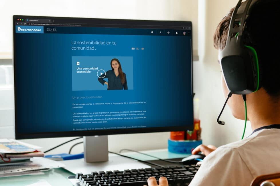 DreamShaper es una herramienta online de Aprendizaje Basado en Proyectos que orienta a los alumnos a través de experiencias de aprendizaje prácticas.