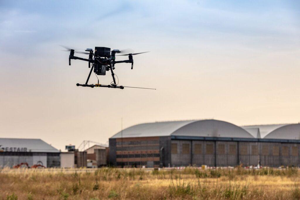 competición drones sevilla catec