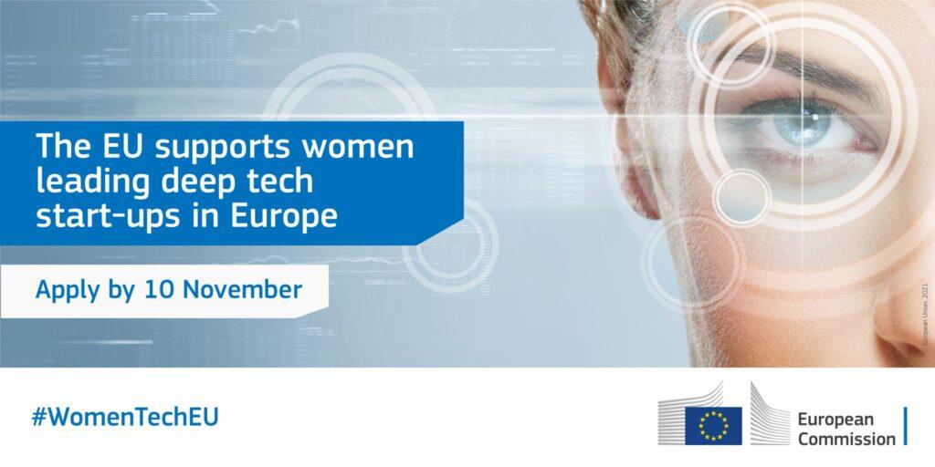 La iniciativa Women TechEU financiará con 75.000 euros a empresas tecnológicas lideradas por mujeres