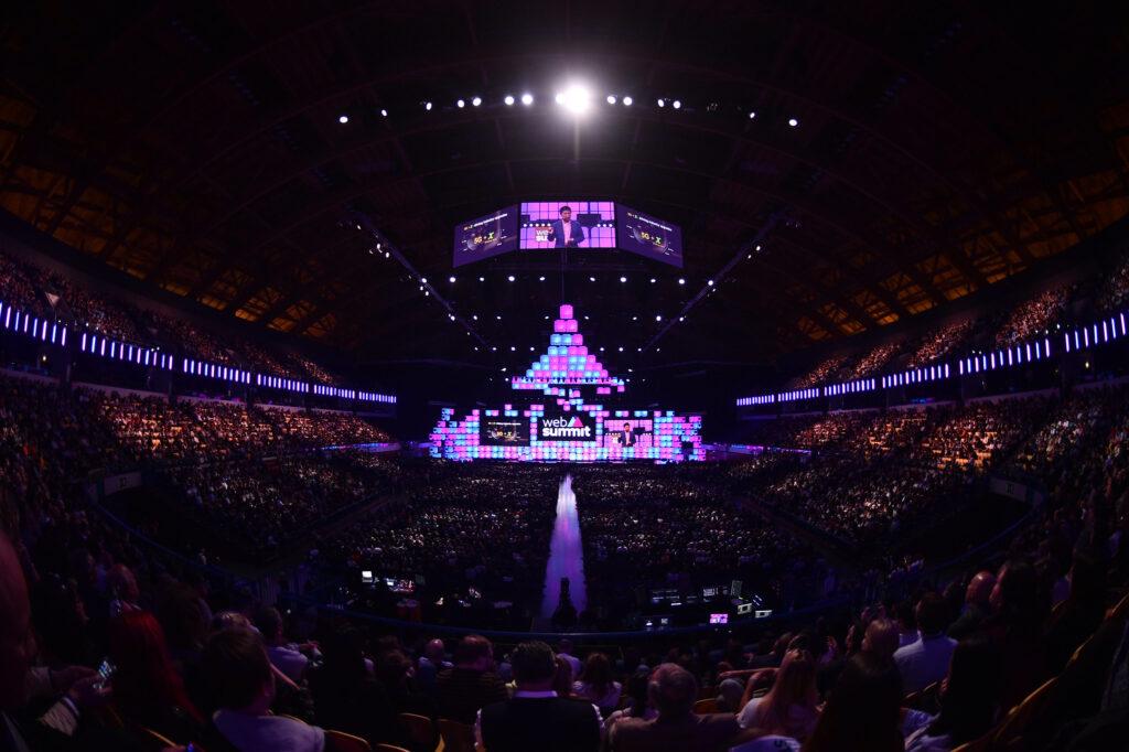 Imagen del Web Summit 2019, la última edición celebrada de forma presencial.